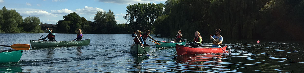 Canoeing at Bray Lake