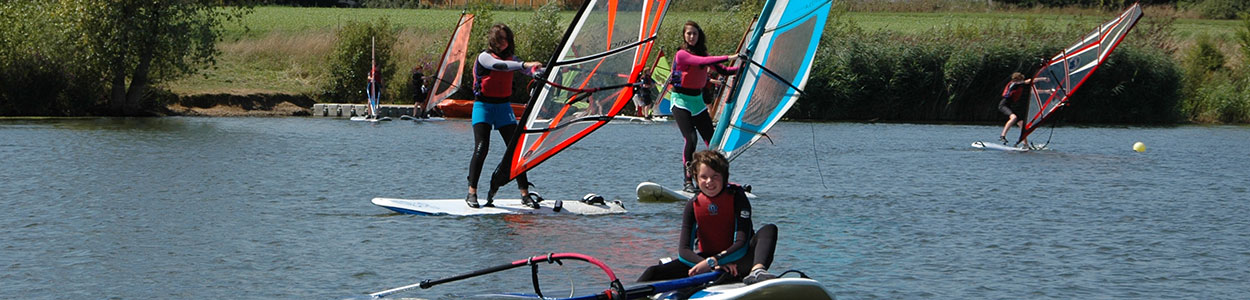 Junior Windsurfing at Bray Lake